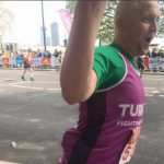 MARATHON: Huw Williams, from Bedwas, raised over £1,000 for charity Turn2us, finishing in 4:14
