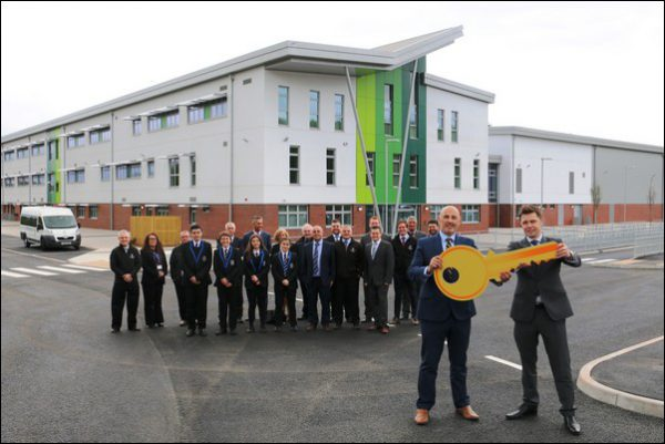 COMPLETE: Work on the £25m Islwyn High School is finished