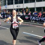 MARATHON: Si?n Johnson, from Oakdale, started running two years ago and finished her first marathon in 6:03:28