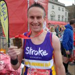 MARATHON: Steve Lane, from Croespenmaen, finished in 3:27