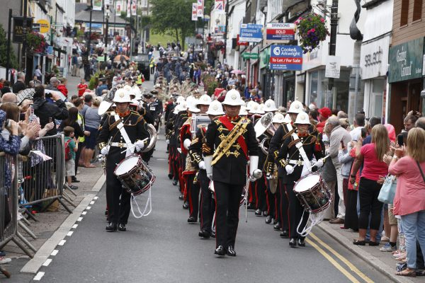 Armed Forces Day will return to Caerphilly on June 24