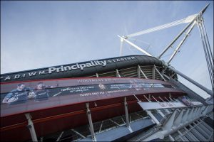 The Principality Stadium in Cardiff