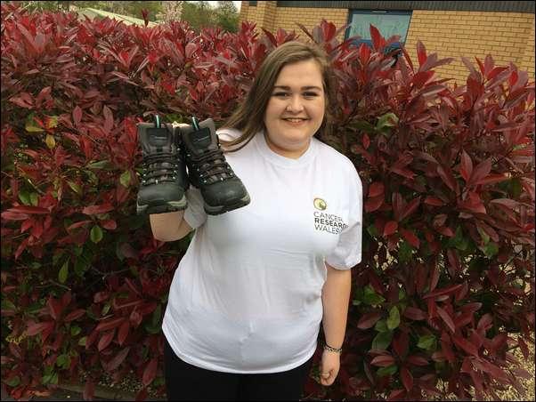 CHINA TREK: Gabriella Holmes is raising money for Cancer Research Wales