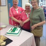ALL SMILES: Tridwr Ladies Bowling Club enjoy celebrations