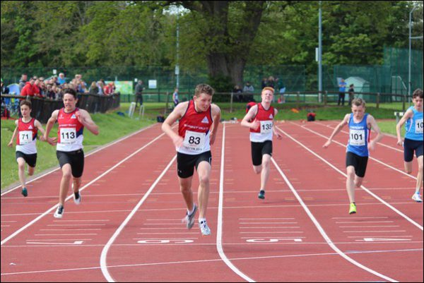 Rhymney Valley athletes compete at the East Wales Regional Championships in Brecon