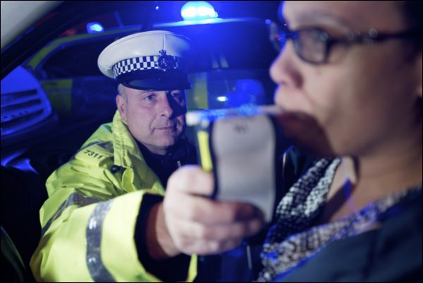TESTING: Last year, Gwent Police carried out more than 1,000 breathalyser tests