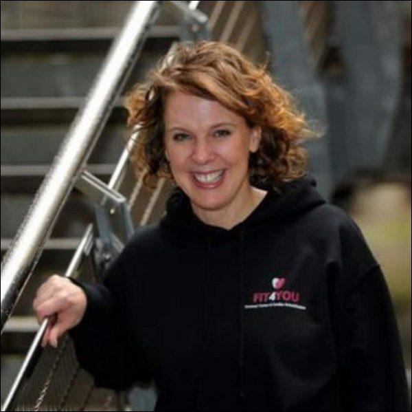 BHF volunteer Michelle Johnson