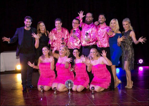 Stars In Your ICE at Strictly Top Dancer