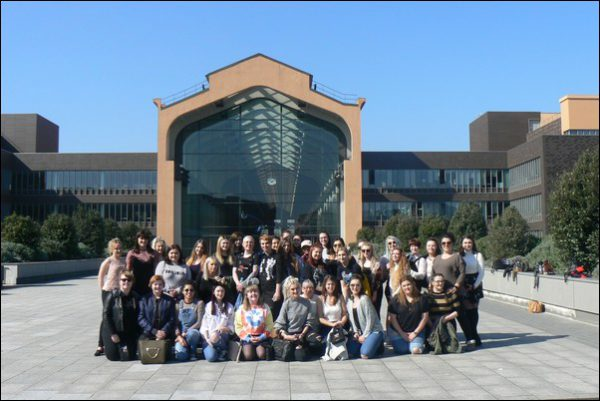 TOP TRIP: Students from Coleg Gwent recently visted Paris