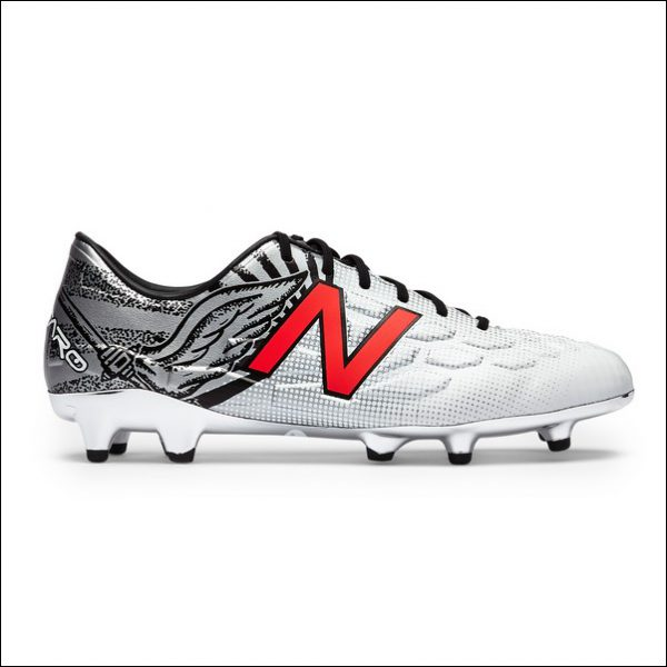 Ramsey's custom boots. Photo by New Balance