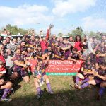 CHAMPIONS: The 2016 Premiership winners, Ebbw Vale, celebrate in style