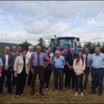 Merthyr Tydfil and Rhymney AM Dawn Bowden met with farmers and other businesses dependent on agriculture during a farm visit organised by the FUW