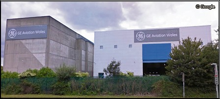 GE Aviation Wales' facility in Nantgarw