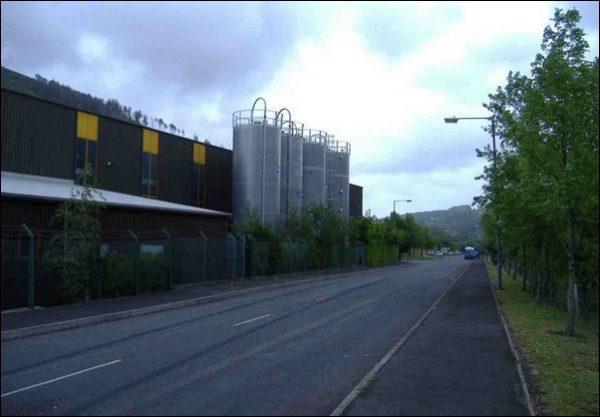 Nine Mile Point Industrial Estate, near Cwmfelinfach. Photo: Roger Cornfoot