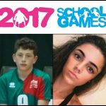 FUTURE STARS: Rhys Bartlett and Imogen Shide will be competing in the School Games in Loughborough