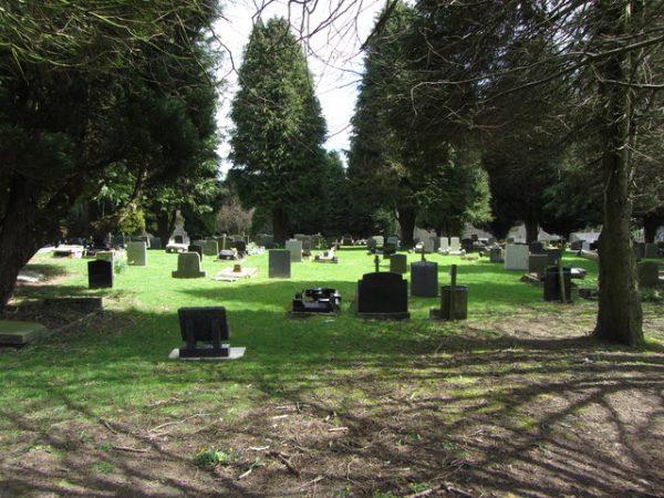 Gelligaer Cemetery. Photo: Gareth James