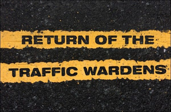 Traffic wardens are set to make a return to the streets of Caerphilly County Borough