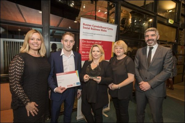 Valleys Gymnastic Academy was awarded best Consumer Facing Social Enterprise at the Social Business Wales Awards