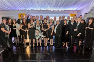 The winners of the 2017 Caerphilly Business Forum Awards