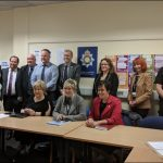Politicians, councillors and Gwent Police met to discuss the issues in Rhymney
