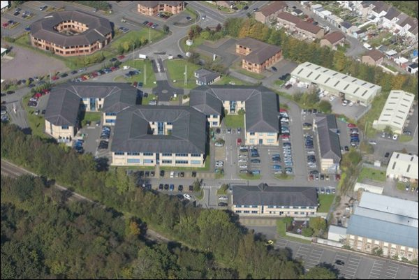 The Welsh ICE Campus on Caerphilly Business Park
