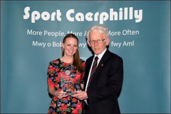 Islwyn Running Club won Club of the Year at the Sport Caerphilly Awards 2017