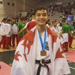 Tomas Moya from Ystrad Mynach. Picture by Paul James