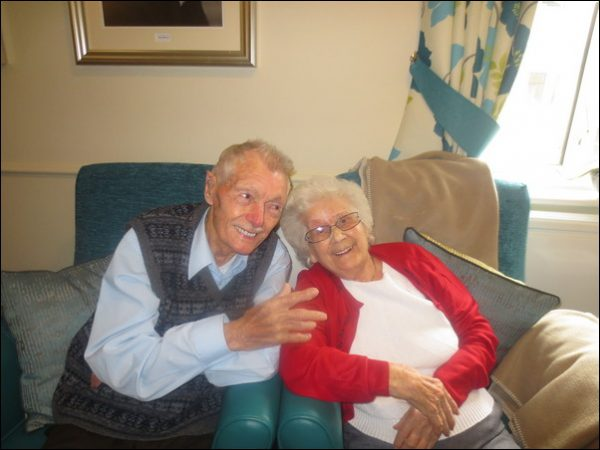 Marion and Alf Floyd have celebrated their 70th wedding anniversary on Boxing Day