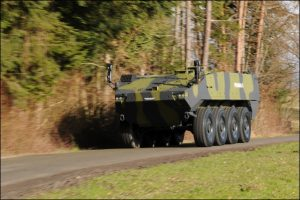 General Dynamics' Piranha 5 is a contender for the MoD's Mechanised Infantry Vehicle programme