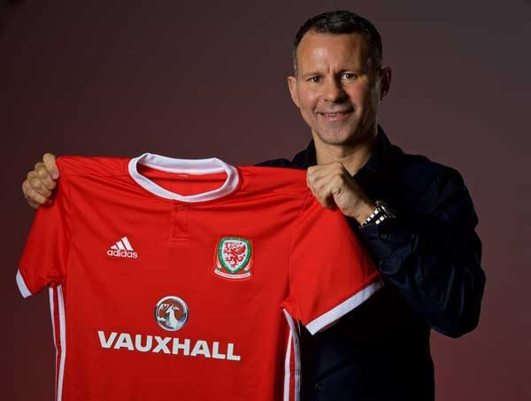 Ryan Giigs has been named the new manager of the Wales football team. Picture: FAWRyan Giigs has been named the new manager of the Wales football team. Picture: FAW