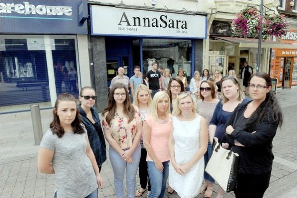 Wedding dress shop AnnaSara conned brides-to-be out of nearly £12,000