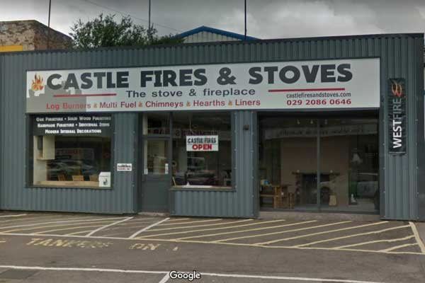 Castle Fires and Stoves on Nantgarw Road, Caerphilly