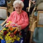 CELEBRATION: Abertridwr resident Doris Jones
