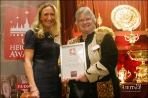 Llancaiach Fawr's Assistant General Manager Lesley Edwards, left, with General Manager Diane Walker. Picture © UK Heritage