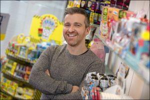Bon Bon Buddies' new sales director Gareth Boldsworth. Picture by Huw John