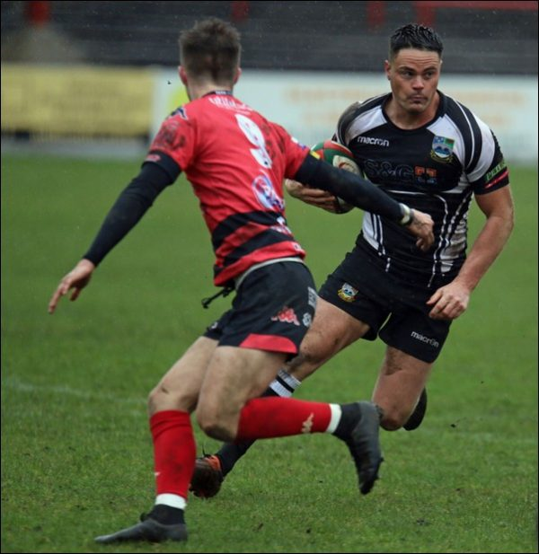 Bedwas's Mike Hathaway