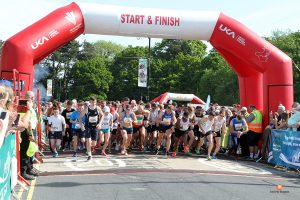 Runners get underway for the 2018 Caerphilly 10k