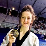 BRONZE MEDAL: Taekwondo star Lauren Williams