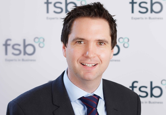 Ben Francis, Wales Policy Chair for the Federation of Small Businesses
