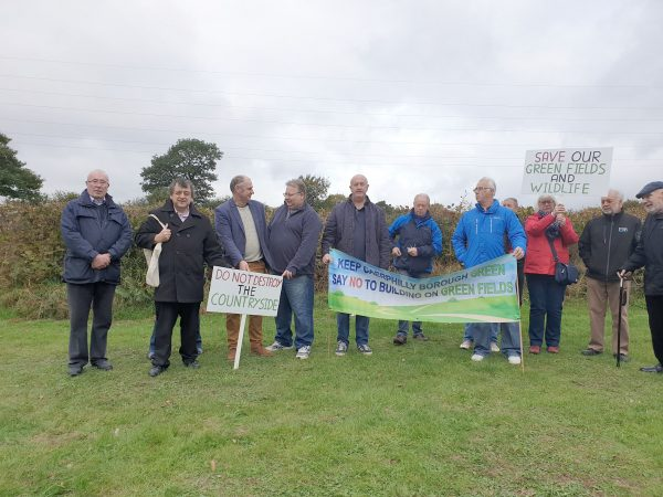 UNITED: There is opposition to the plans for Grove Park