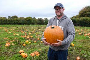 Farmer David Davies of Pencoed Organic Farm. Picture by Joanne Burgess Photography