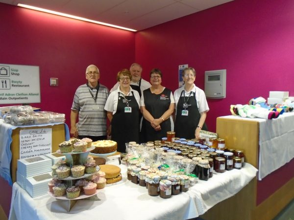 RVS volunteers have raised £4,865 for Ysbyty Ystrad Fawr
