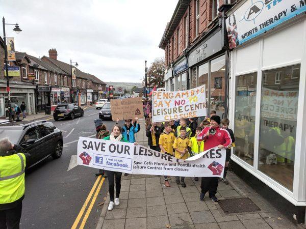 VOICES HEARD: The march through Blackwood