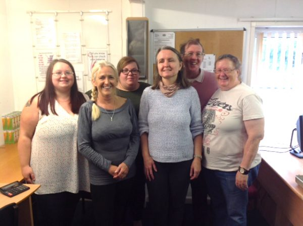 Islwyn Credit Union's team of volunteers
