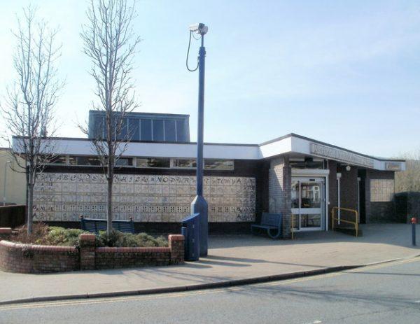 Ystrad Mynach library