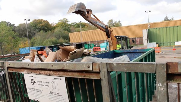 Penmaen Household Waste and Recycling Centre