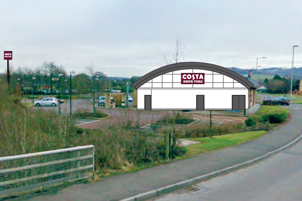 Costa Coffee Drive Thru Plans Approved News Caerphilly