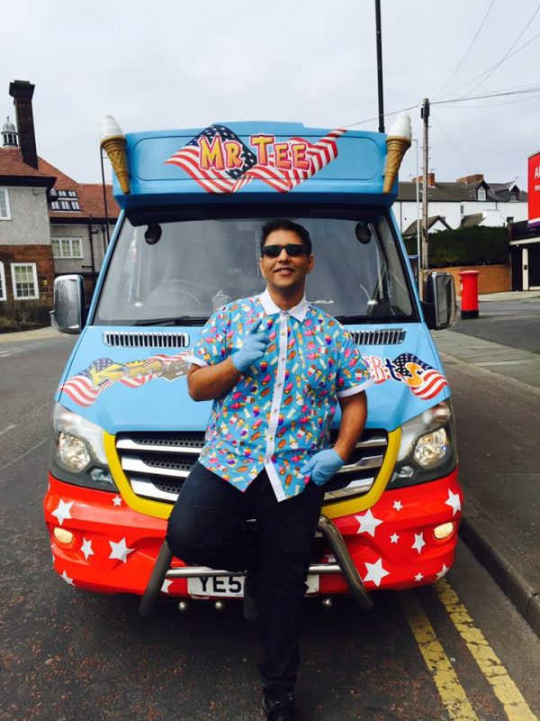 Imran Ashiq has been told to pay £1,700 for operating in Caerphilly County Borough without a licence