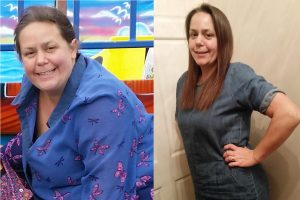 Nikki-Lee Atherton is a member of Aber Valley Slimming World group