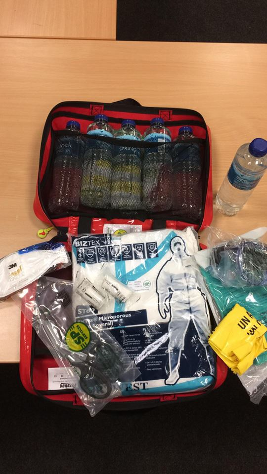 Acid Attack Response Kits Given Out By Gwent Police To
